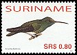 Cl: Glittering-throated Emerald (Amazilia fimbriata) SG 2165 (2006) 95