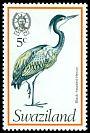 Cl: Black-headed Heron (Ardea melanocephala) SG 240 (1976) 35