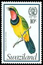 Cl: Four-coloured Bushshrike (Telophorus viridis) SG 243 (1976) 50