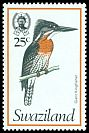 Cl: Giant Kingfisher (Megaceryle maximus) SG 246 (1976) 125