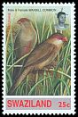 Cl: Common Waxbill (Estrilda astrild) <<Lintjiyane>> (Repeat for this country)  SG 630 (1993)