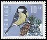 Cl: Great Tit (Parus major) <<Talgoxe>> (Repeat for this country)  SG 2366 (2004) 275