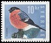 Cl: Eurasian Bullfinch (Pyrrhula pyrrhula) <<Domherre>> (Repeat for this country)  SG 2369 (2004) 275