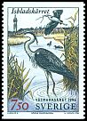Cl: Grey Heron (Ardea cinerea) SG 1886 (1996) 150 I have 1 spare [2/27]