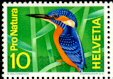 Cl: Common Kingfisher (Alcedo atthis)(Repeat for this country)  SG 731 (1966) 5