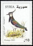 Cl: Northern Lapwing (Vanellus vanellus) SG 2145 (2003) 80