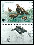 Cl: Mikado Pheasant (Syrmaticus mikado)(Endemic or near-endemic)  SG 2162 (1993)