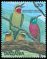 Cl: Little Bee-eater (Merops pusillus) SG 627 (1989) 75
