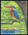 Cl: Malachite Kingfisher (Alcedo cristata) SG 635 (1989) 75