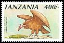 Cl: White-headed Vulture (Trigonoceps occipitalis) <<Tumbusi>>  SG 814b (1991) 100