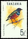 Cl: Superb Starling (Lamprotornis superbus)(Repeat for this country)  SG 1353 (1992)