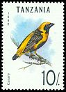 Cl: Yellow-crowned Bishop (Euplectes afer) SG 1354 (1992) 30