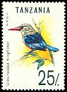 Cl: Grey-headed Kingfisher (Halcyon leucocephala) SG 1356 (1992) 45