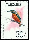 Cl: Common Kingfisher (Alcedo atthis)(Out of range)  SG 1357 (1992)