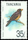Cl: Yellow-billed Oxpecker (Buphagus africanus) SG 1358 (1992) 45