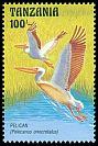 Cl: Great White Pelican (Pelecanus onocrotalus)(Repeat for this country)  SG 1546 (1993) 60