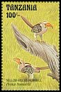 Cl: Eastern Yellow-billed Hornbill (Tockus flavirostris)(Repeat for this country) (I do not have this stamp)  SG 1573 (1993) 60