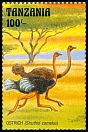 Cl: Ostrich (Struthio camelus)(Repeat for this country) (I do not have this stamp)  SG 1578 (1993) 60