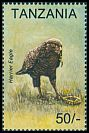 Cl: Brown Snake-Eagle (Circaetus cinereus) SG 1771 (1994) 50
