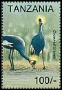 Cl: Black Crowned-Crane (Balearica pavonina)(Out of range)  SG 1773 (1994)
