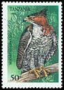 Cl: Ornate Hawk-Eagle (Spizaetus ornatus)(Out of range)  SG 1848 (1994)