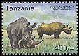 Cl: Yellow-billed Oxpecker (Buphagus africanus)(Repeat for this country)  SG 2336 (2003)