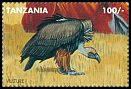 Cl: White-backed Vulture (Gyps africanus)(Repeat for this country) (I do not have this stamp) (not catalogued)  (1995)