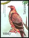 Cl: Verreaux's Eagle (Aquila verreauxii)(Repeat for this country) (I do not have this stamp)  new (2012)