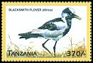 Cl: Blacksmith Plover (Vanellus armatus)(Repeat for this country) (not catalogued)  (1999)