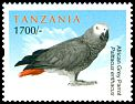 Cl: Grey Parrot (Psittacus erithacus)(Repeat for this country)  new (2011)  [7/44]
