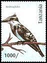 Cl: Pied Kingfisher (Ceryle rudis)(Repeat for this country) (I do not have this stamp)  new (2012)