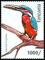Cl: Common Kingfisher (Alcedo atthis)(Out of range) (I do not have this stamp)  new (2012)  [8/15]