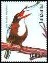 Cl: White-throated Kingfisher (Halcyon smyrnensis)(Out of range) (I do not have this stamp)  new (2012)  [8/15]