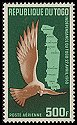 Cl: Palm-nut Vulture (Gypohierax angolensis)(Stylised)  SG 261 (1960) 950 [5/10]