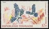 Cl: Montagu's Harrier (Circus pygargus)(Repeat for this country)  SG 545 (1967) 25