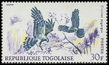 Cl: Montagu's Harrier (Circus pygargus)(Repeat for this country)  SG 549 (1967) 175 [3/11]