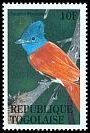 Cl: African Paradise-Flycatcher (Terpsiphone viridis) SG 2136 (1995) 10