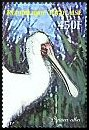 Cl: African Spoonbill (Platalea alba)(Repeat for this country)  new (2007)