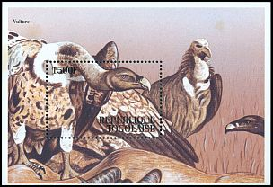 Cl: White-backed Vulture (Gyps africanus) SG 2145 (1995) 0