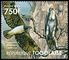 Cl: Martial Eagle (Polemaetus bellicosus)(I do not have this stamp)  new (2011)