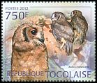 Cl: Greyish Eagle-Owl (Bubo cinerascens)(I do not have this stamp)  new (2012)