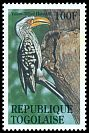 Cl: Eastern Yellow-billed Hornbill (Tockus flavirostris)(Out of range)  SG 2140 (1995) 25