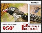 Cl: Greater Honeyguide (Indicator indicator)(I do not have this stamp)  new (2015)