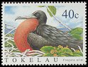 Cl: Lesser Frigatebird (Fregata ariel)(Repeat for this country)  SG 362 (2004)