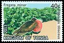 Cl: Great Frigatebird (Fregata minor)(Repeat for this country)  SG 1680 (2013)