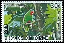 Cl: Blue-crowned Lorikeet (Vini australis)(Repeat for this country)  SG 1679 (2013)