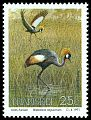 Cl: Grey Crowned-Crane (Balearica regulorum)(Repeat for this country)  SG 269 (1991)