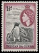 Cl: Rockhopper Penguin (Eudyptes chrysocome) SG 16 (1954) 175