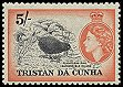 Cl: Inaccessible Island Rail (Atlantisia rogersi) SG 26 (1954) 5000