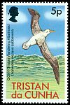 Cl: Wandering Albatross (Diomedea exulans dabbenena) <<Gony>> (Repeat for this country)  SG 224 (1977)